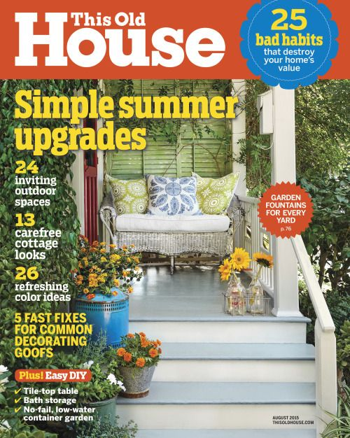 this old house magazine subscriptions renewals and gifts options at discounted prices risk free money back guarantee - Houses Magazine Subscription