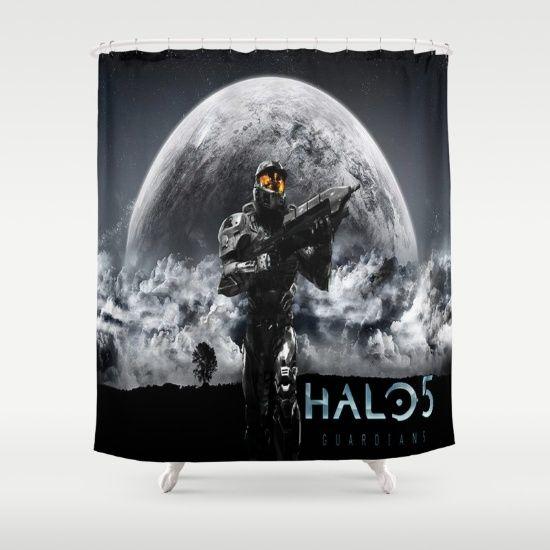 Halo 5 Shower Curtain Best Design