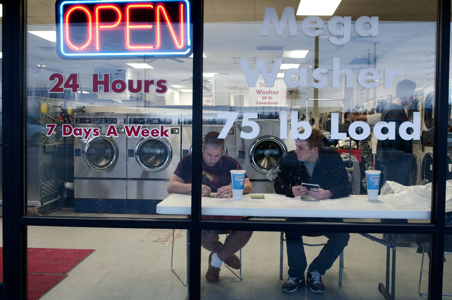 The Laundromat Open 24hours Business marketing plan