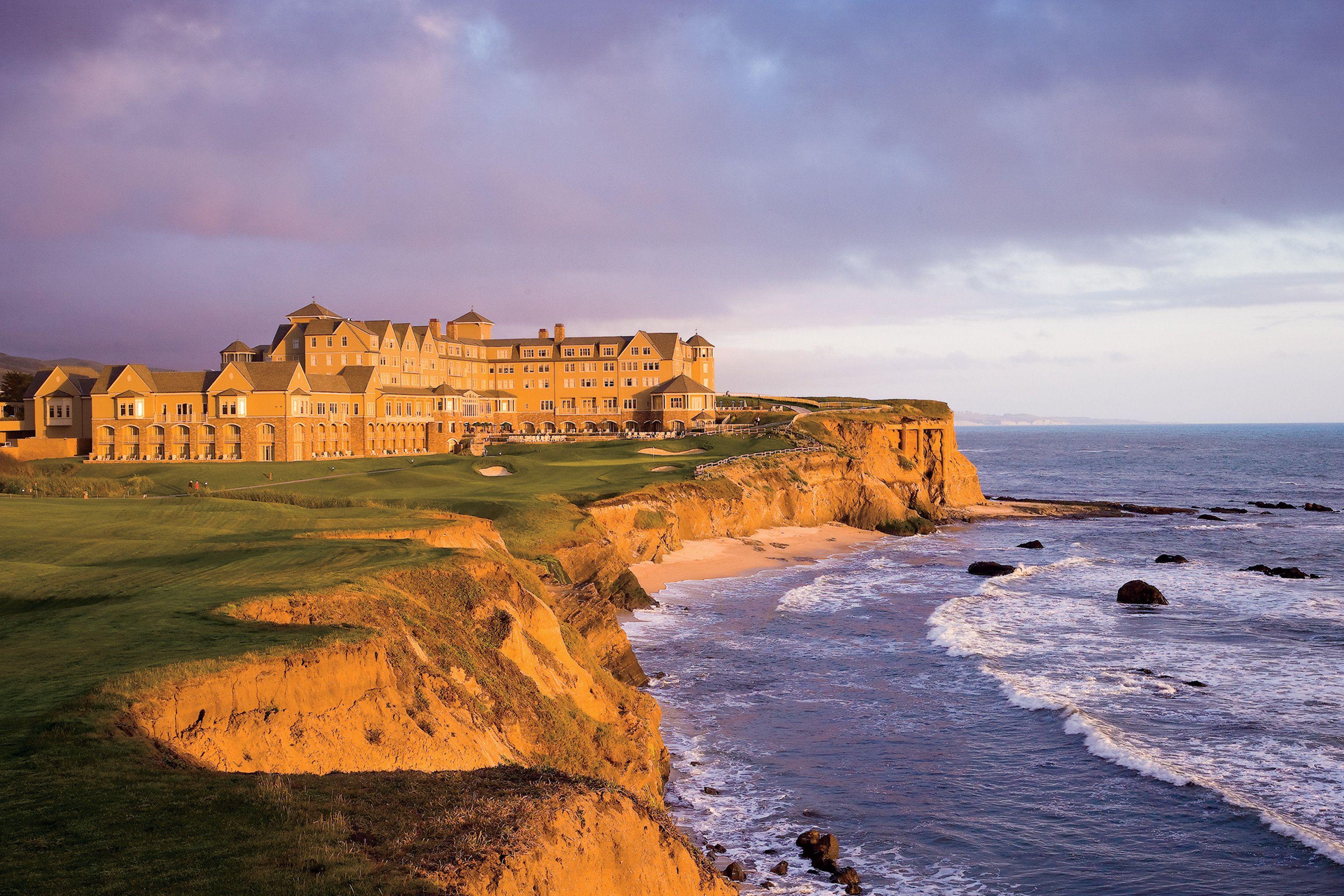 9 Dreamy Waterfront Hotels Around The World Half Moon Bay California Beach Hotels Half Moon Bay
