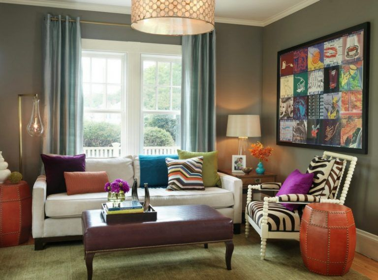 Kleines Wohnzimmer gestalten: Wie kann es schön werden   Wohnung ...