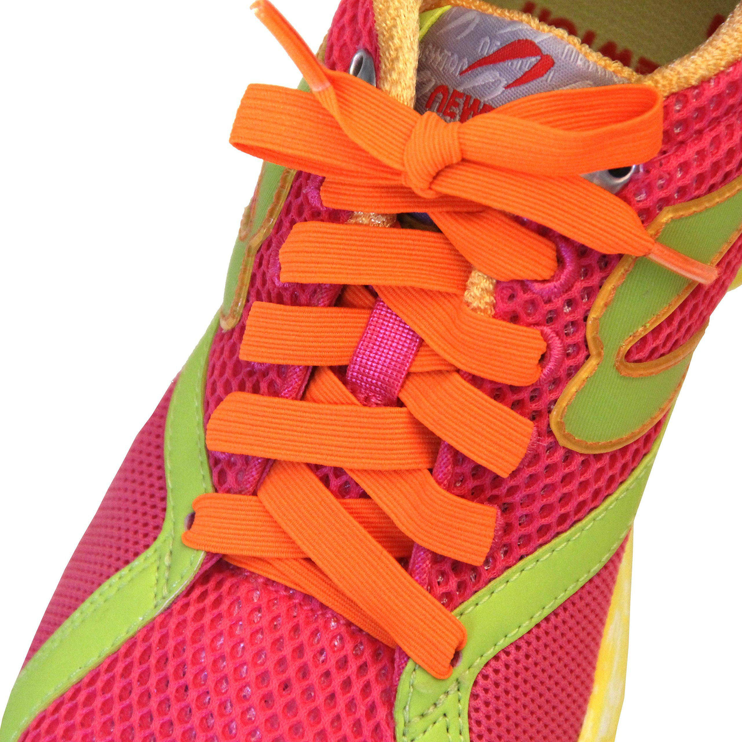 Gifts for runners brightly colored shoelaces for runners