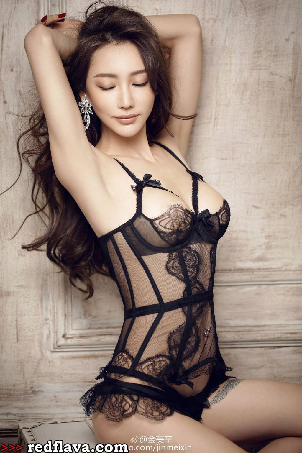 lingerie Sexy asians in