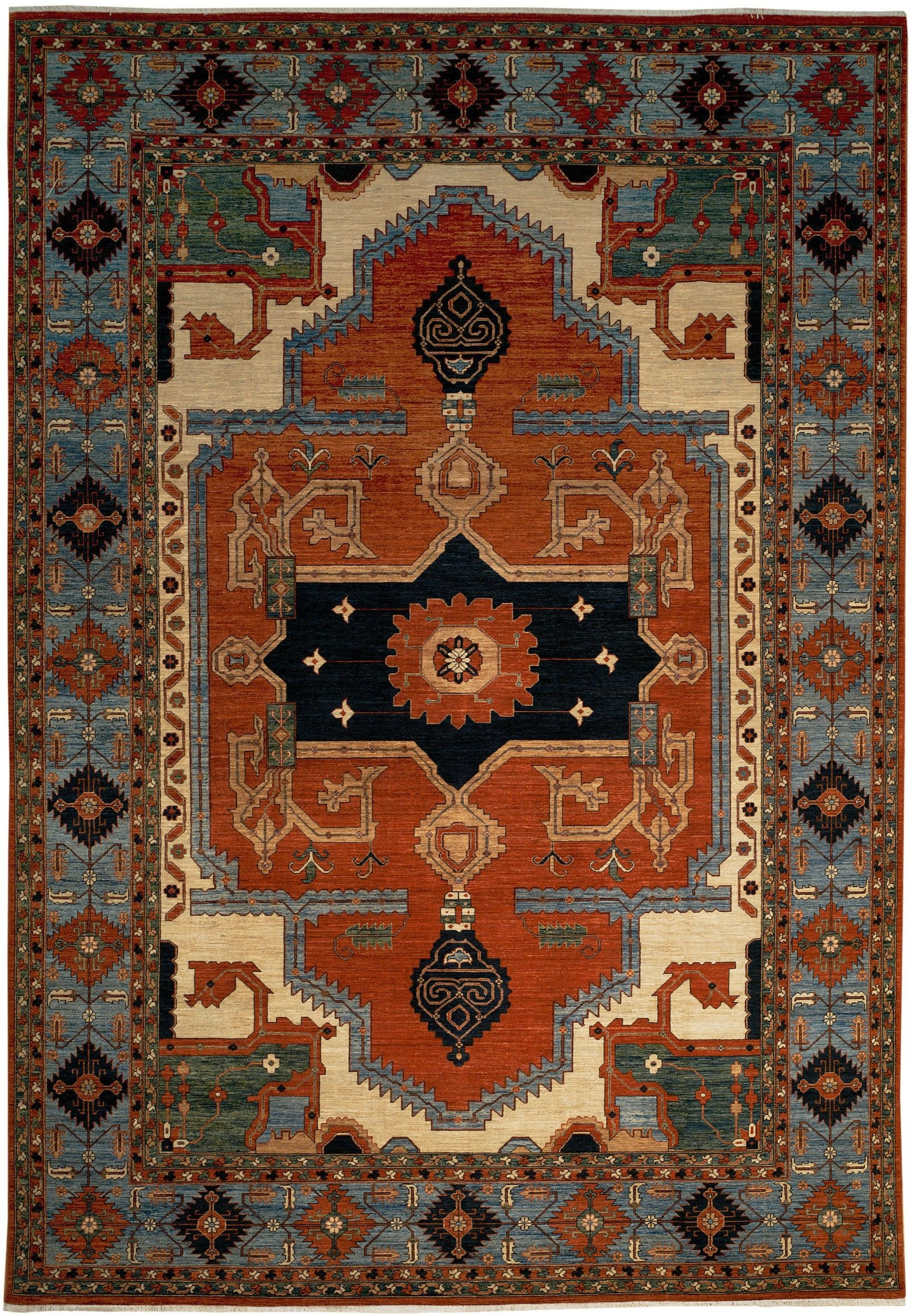 New contemporary pakistan serapi area rug area rugs oxford