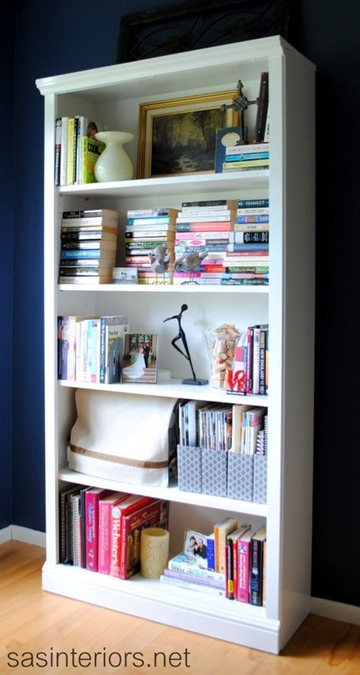 pinterest painted bookshelves likewise - photo #6