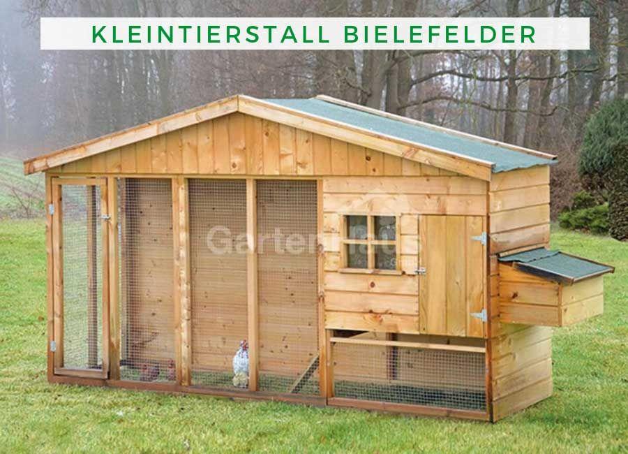 Hühner / Vogel / Kaninchenstall Bielefelder