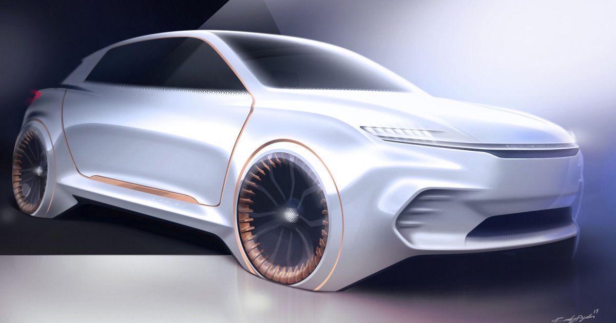 Fiat Chrysler S Airflow Vision Concept Car Touts An All Digital