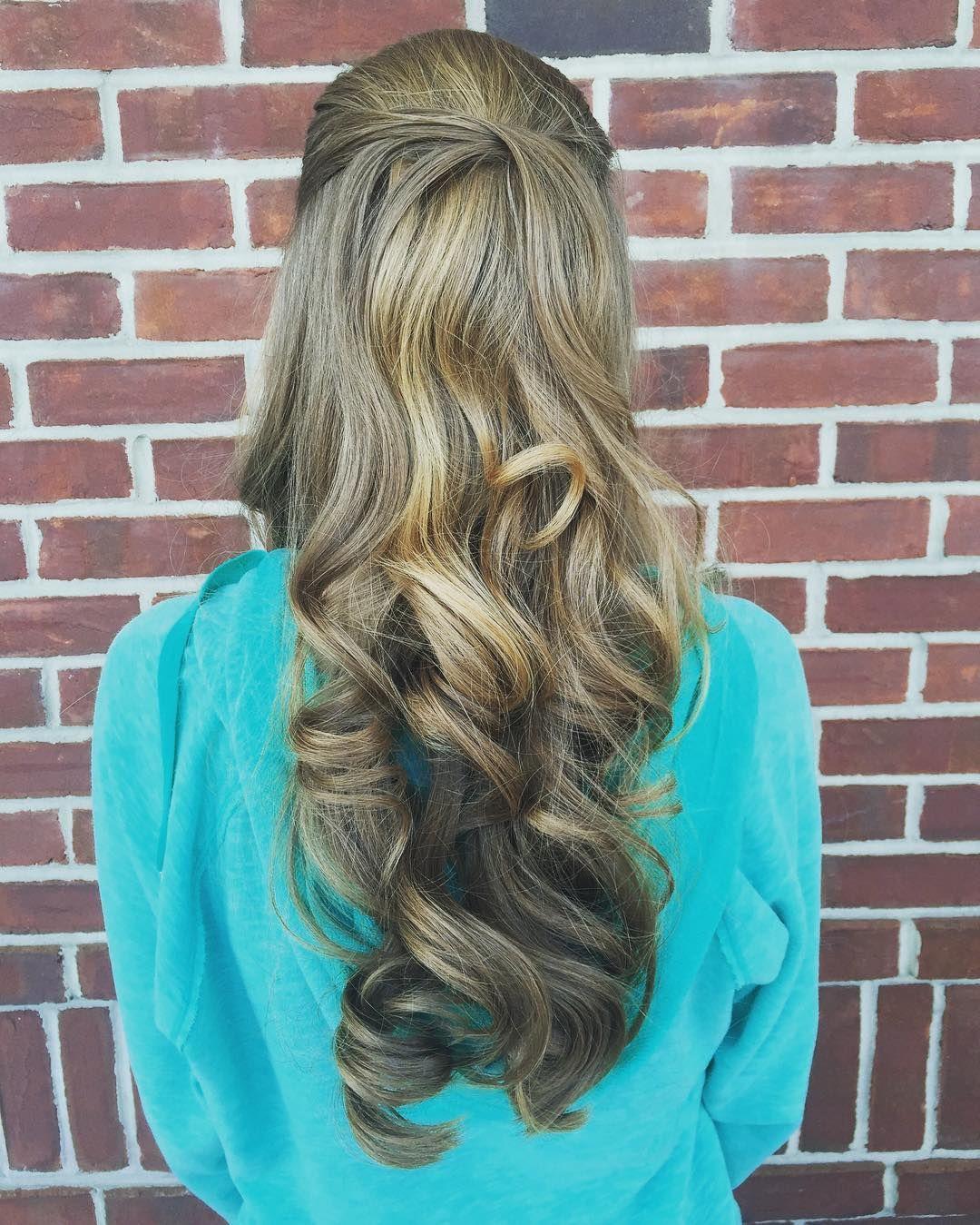 60 Cute Easy Half Up Half Down Hairstyles: Wedding, Prom