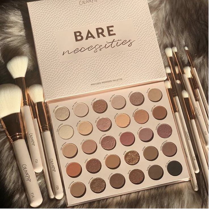 Bare Necessities in 2020 Neutral eyeshadow palette