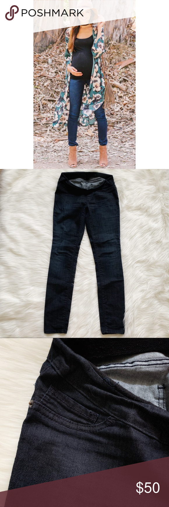 07c91b5428f4e Maternity jeans Heidi Klum Lavish maternity jeans, this is the nicer line  sold at Pea