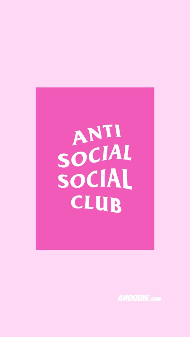 5001f35692af Anti Social Club iPhone 6 Wallpaper