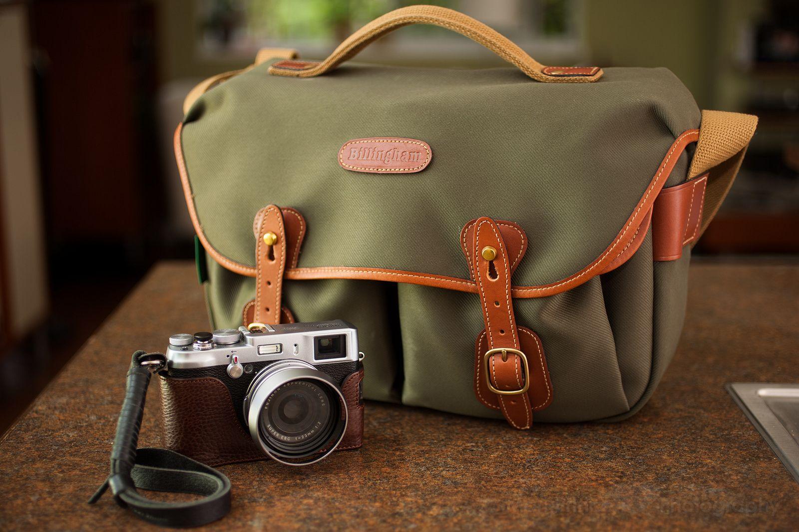 All Sizes Fuji X100 With Billingham Hadley Pro Bag Flickr Shoulder Khaki Chocolate Leather Photo Sharing