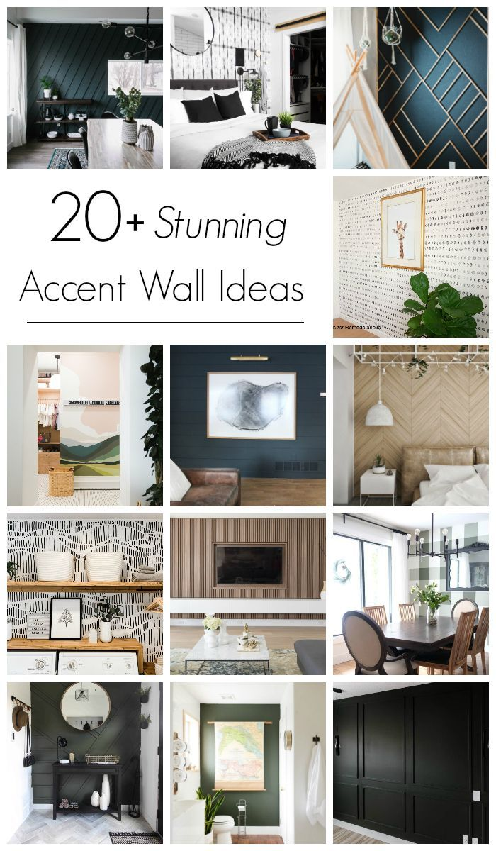 20 Stunning Modern Accent Wall Ideas How To Use Them Love Create Celebrate Feature Wall Living Room Accent Walls In Living Room Feature Wall Bedroom