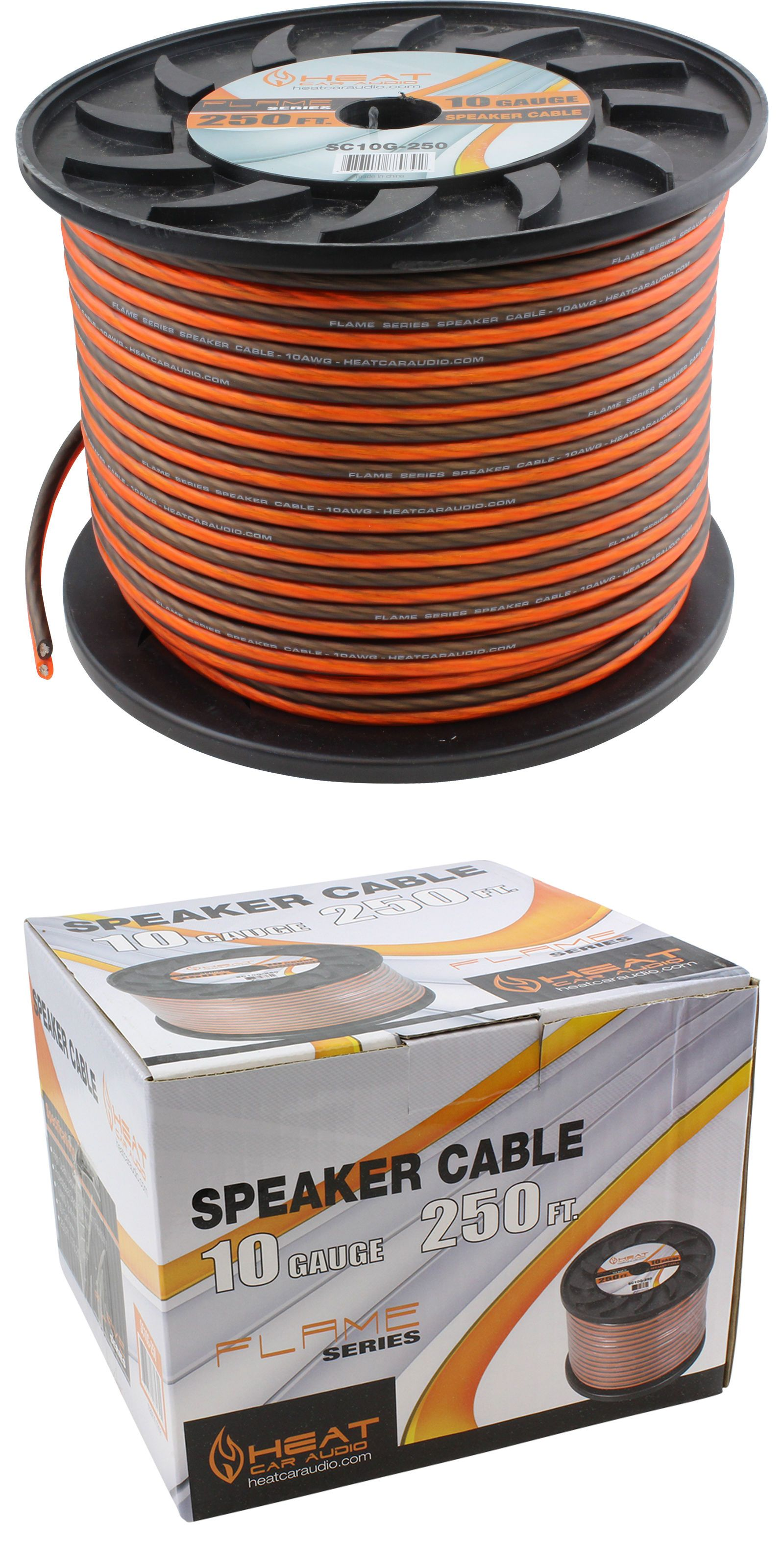 Power And Speaker Wire 250 10 Gauge Cca Car Home Audio Wiring On Pinterest Electrical Ft