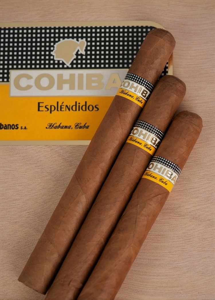 picture relating to Cigar Ring Gauge Chart Printable identify Ideal Cuban Cigars - Cohiba Esplendidos Duration: 7\