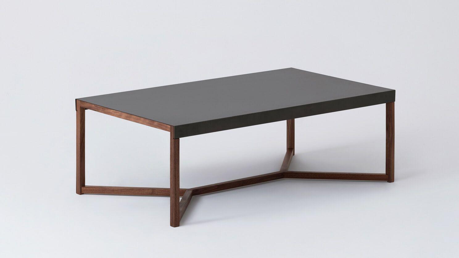 Trivia Coffee Table Eq3 Coffee Table Minimalist Coffee Table Walnut Coffee Table [ 836 x 1488 Pixel ]