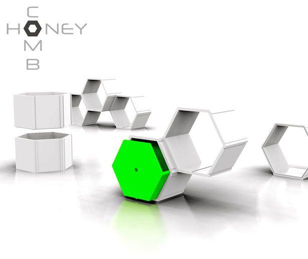 Honeycomb Modular Furniture System By NyadaDesign