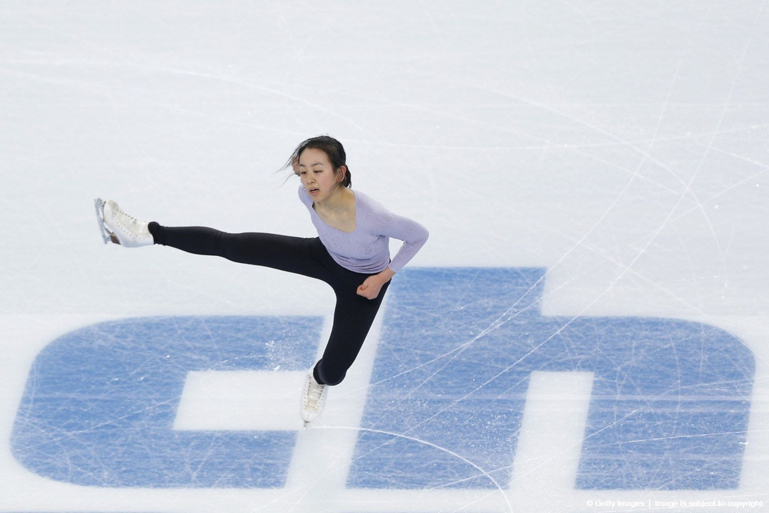 By Matthew Stockman Getty Images Sport | Figure skater Mao Asada of Japan practices at the Iceberg Skating Palace on February 6, 2014 in Sochi, Russia. (1536×1024)