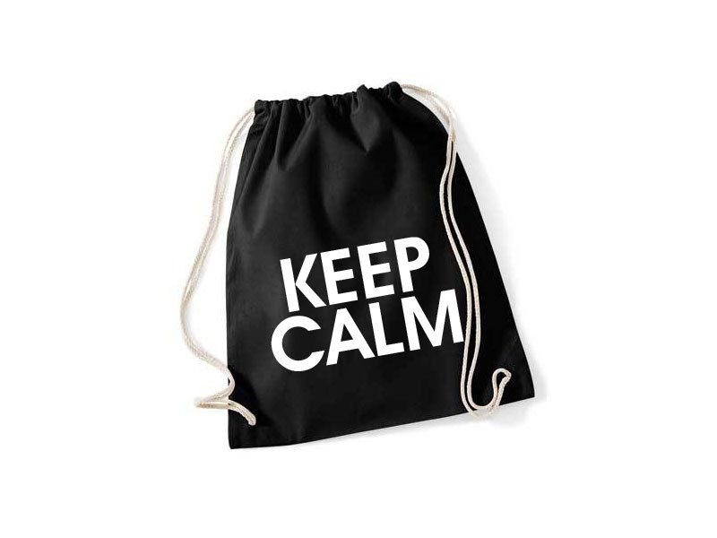 Keep Calm Turnbeutel