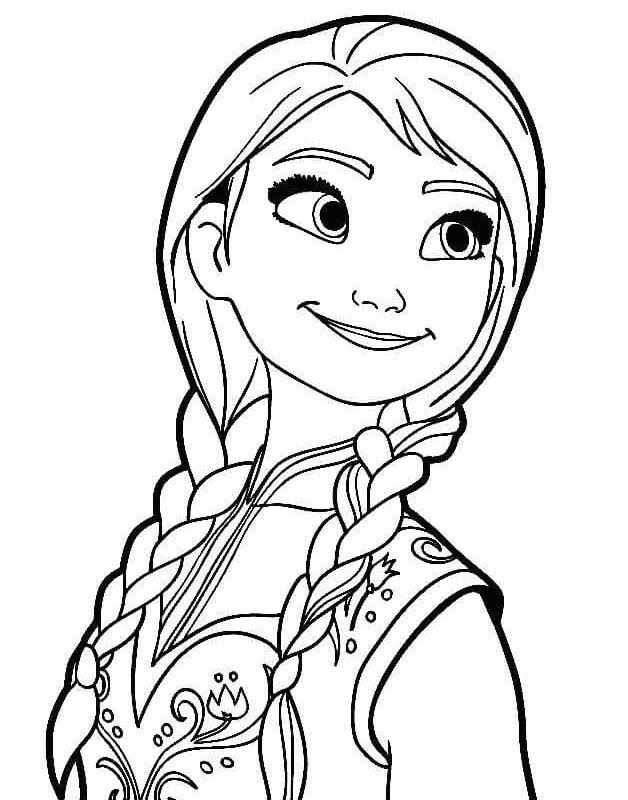 Elsa Frozen Gambar Princes Mewarnai Download Kumpulan Gambar