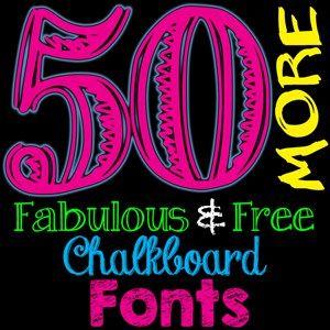 Awesome Free Dingbat Fonts for Chalkboards | FONTaholics Unite