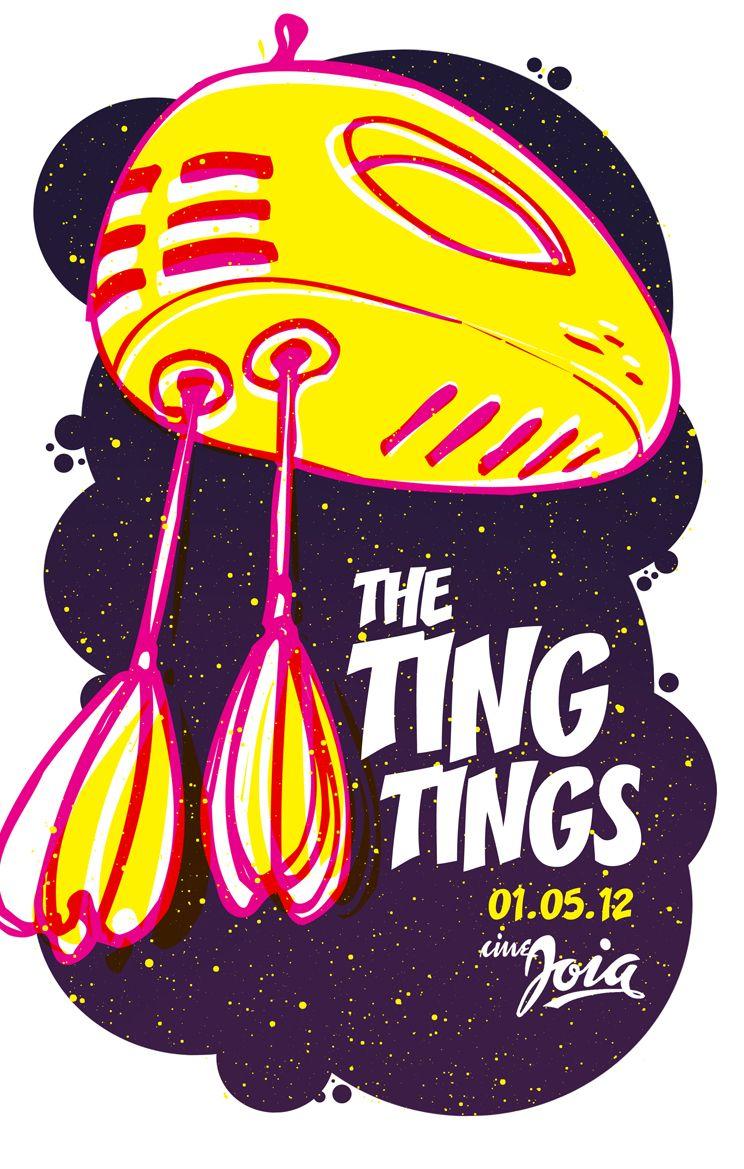 [May 1st] The Ting Tings gig at Cine Jóia. Carlos Gomes Sq., 82, Liberdade - Sao Paulo