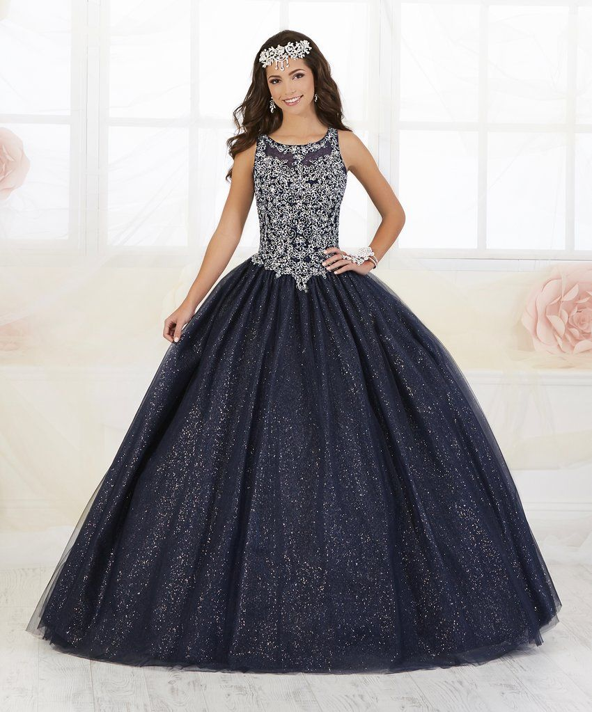 f40dbf0e194 Beaded Glitter Quinceanera Dress by Fiesta Gowns 56358-House of Wu Fiesta  Gowns-ABC Fashion