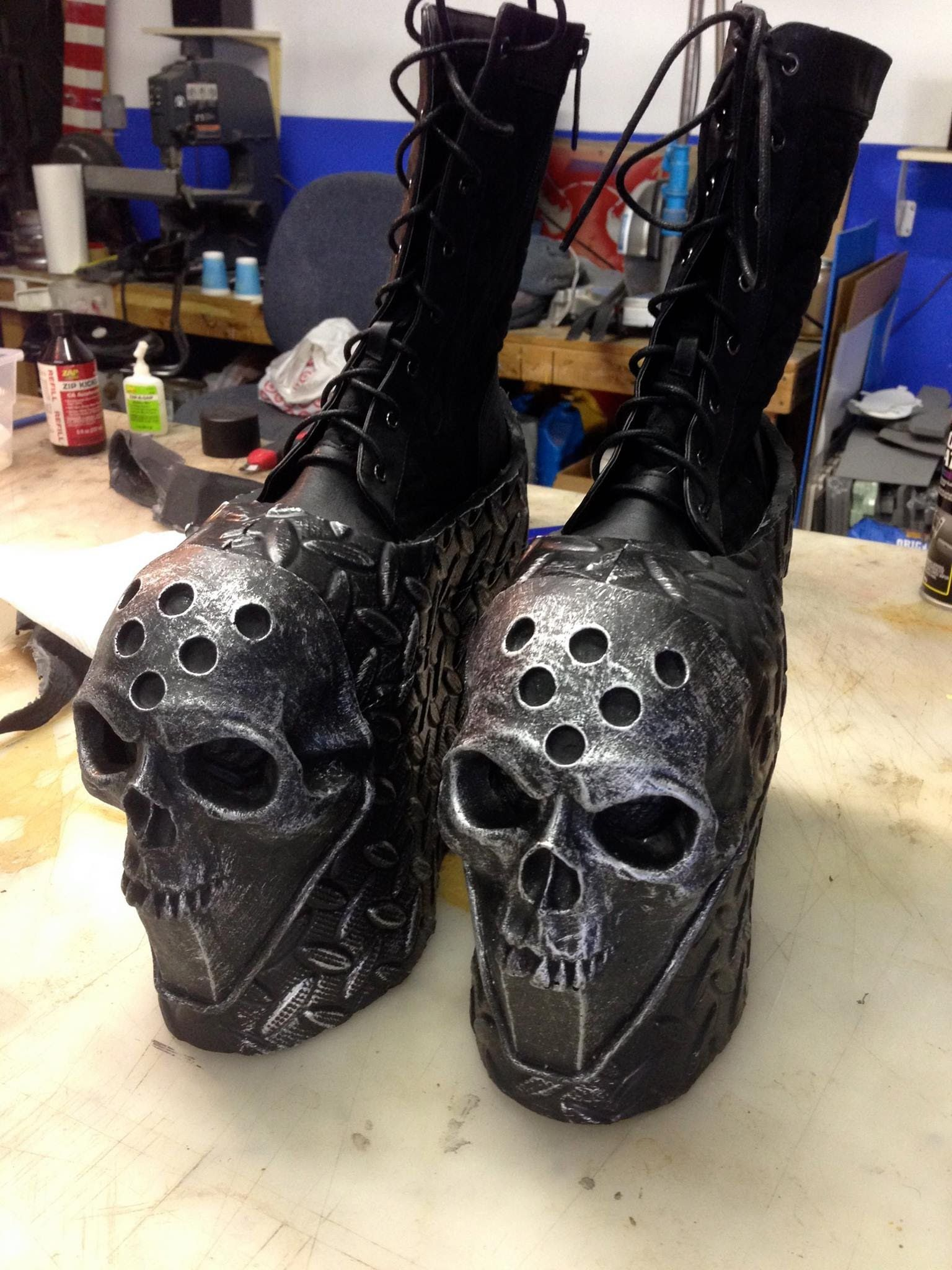 How To Make Platform Shoes For Cosplay Tutorial Part 2 Even Longer Than The Last One But Very In Depth Cosplay Diy Cosplay Tutorial Cosplay Shoes
