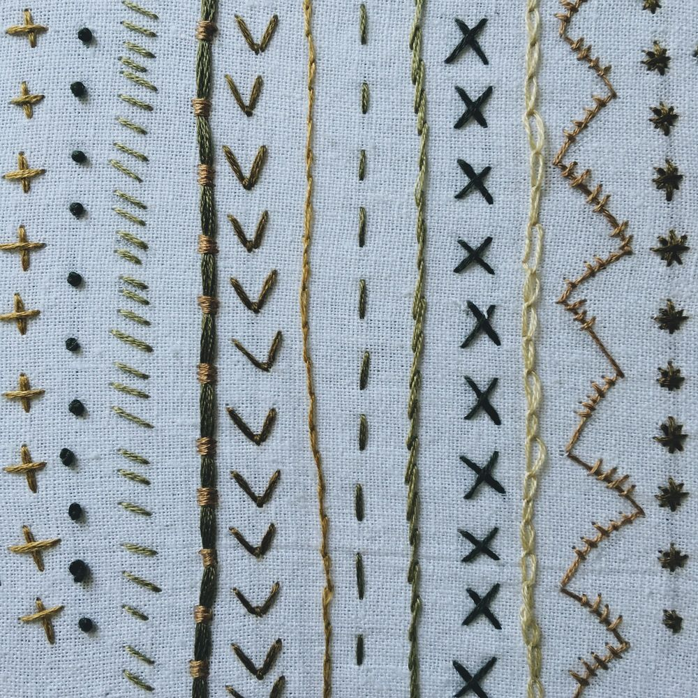 A Beginner's Guide To Hand Embroidery - Blog — Under a Tin Roof