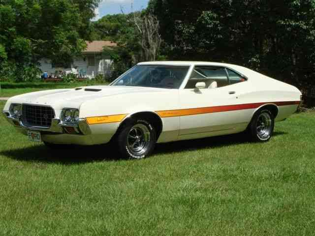 My First Car 1972 Ford Torino Gt Vintage Muscle Cars Ford