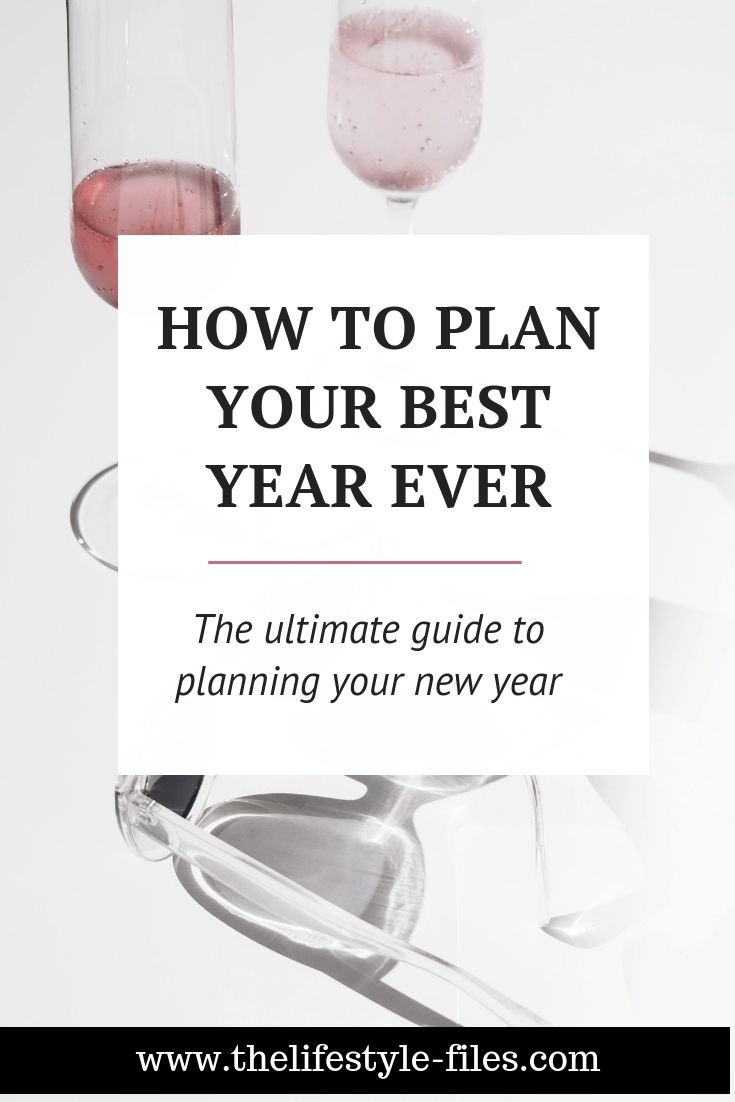 How I plan my year in advance - The Lifestyle Files