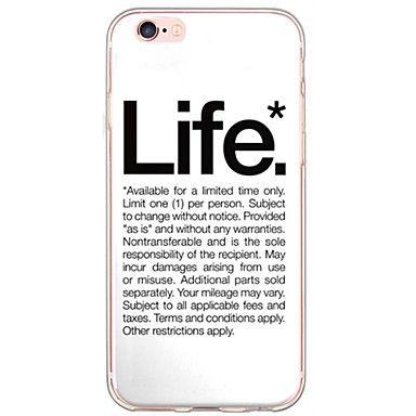 coque iphone 6 plus phrase