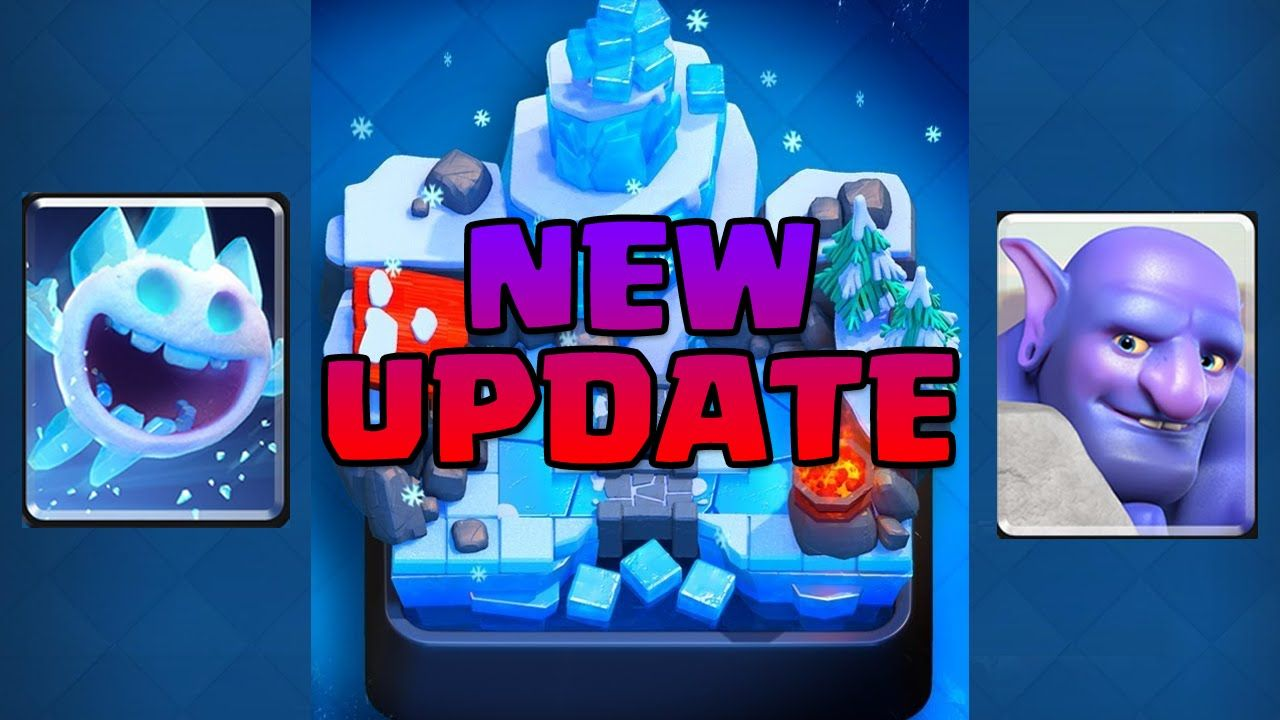 New Update! Ice Spirit & Bowler • Clash Royale