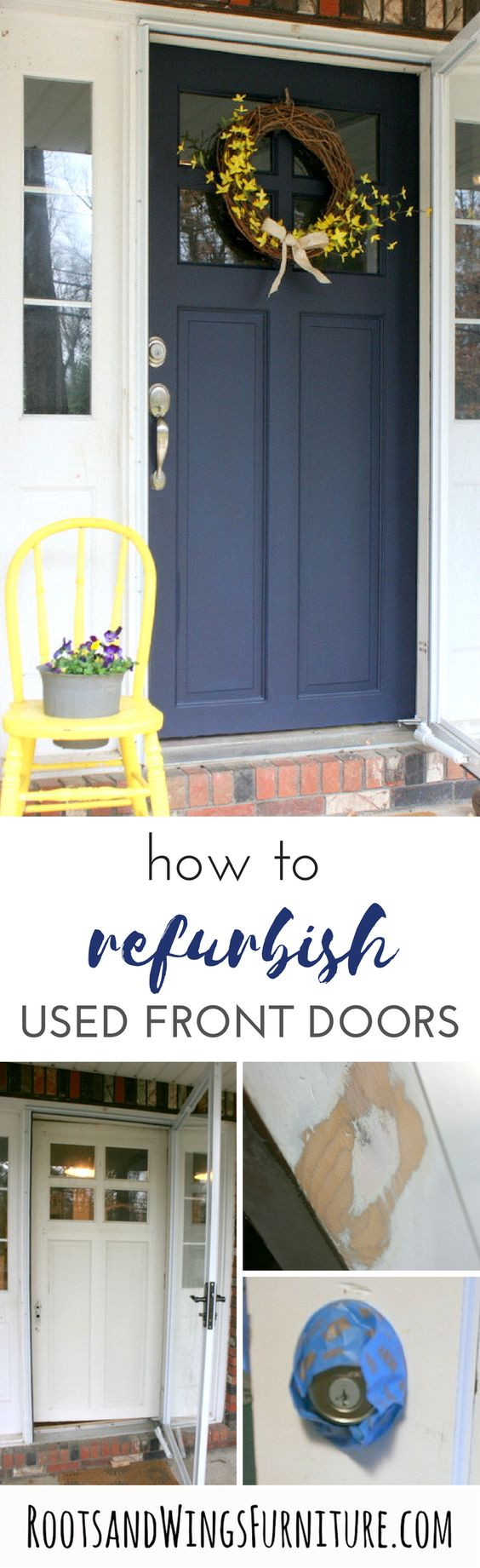 Front Door Makeover With General Finishes Milk Paint General