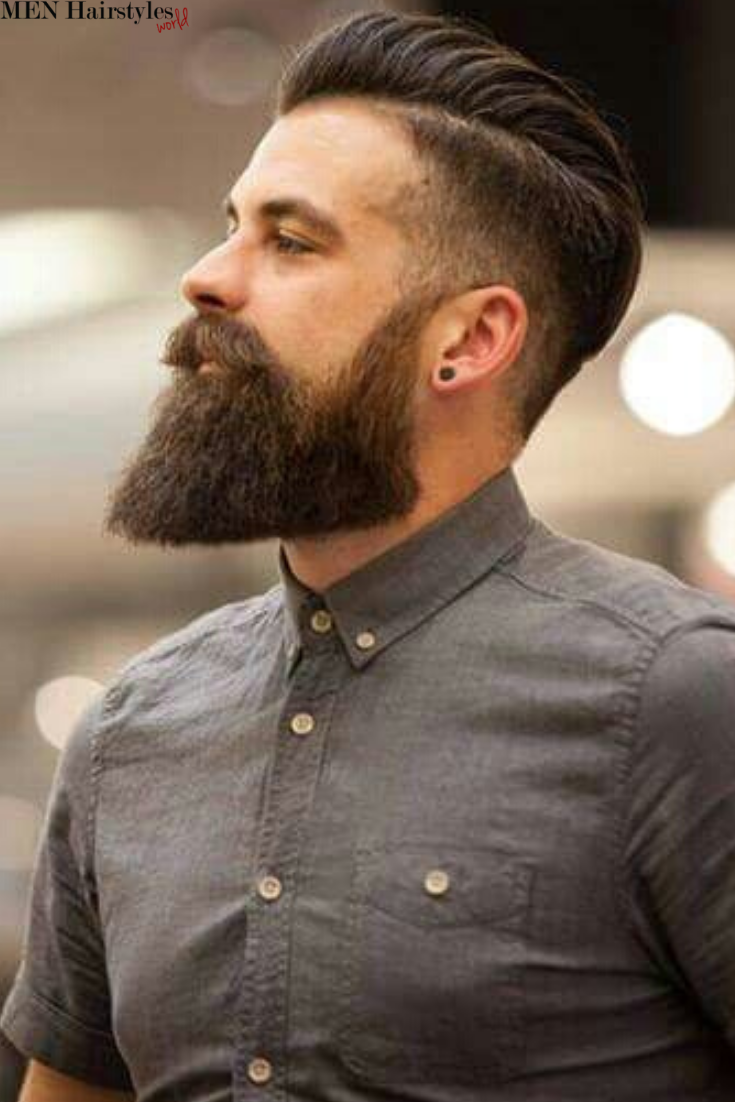 What Do All Brilliant Haircuts For Men Have In Common An Expertly Trimmed Contour And There S No Be Beard Haircut Haircuts For Men Mens Hairstyles With Beard
