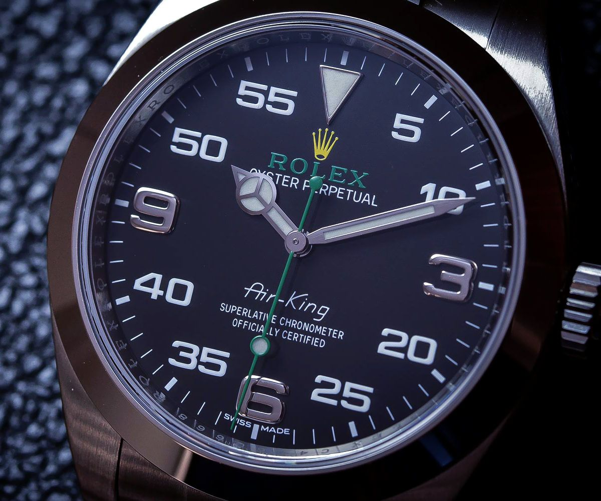 Rolex Air King Detailed review with price in India