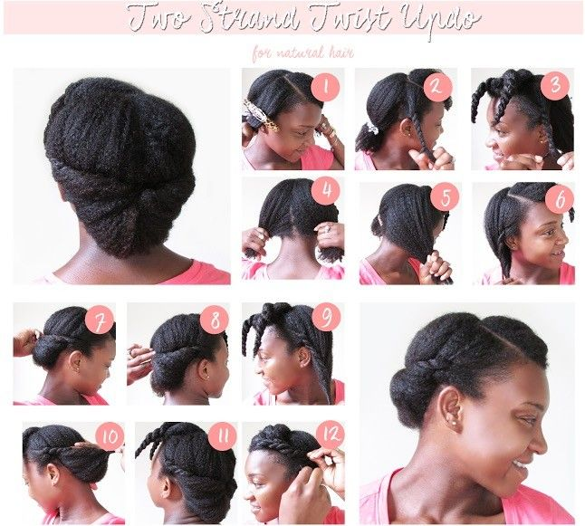 Top 6 Quick Easy Natural Hair Updos Natural Updo Hairstyles