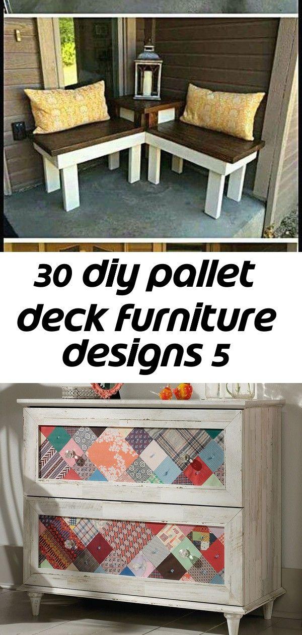 30 diy pallet deck furniture designs 5 #projekteimfreien