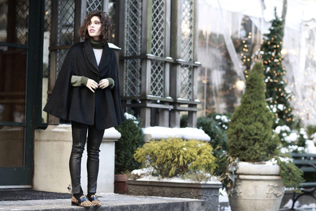 PRIMARY NEW YORK | Christina Caradona in Primary Tread turtleneck