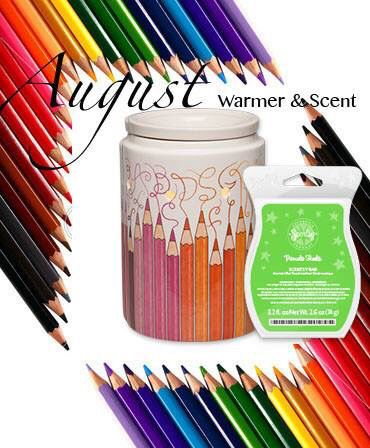 August warmer and scent of the month!!
