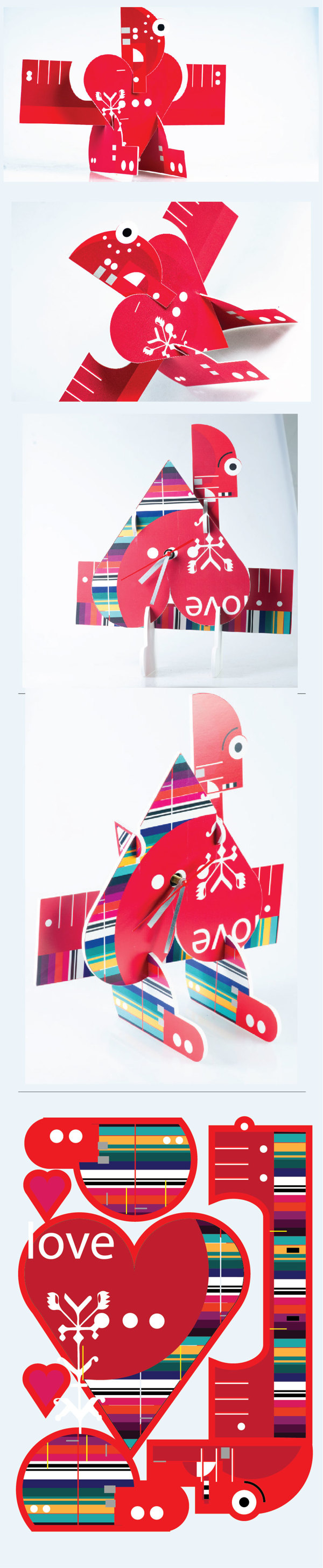 Welcome My Love Toy by evin eva pesic, via Behance