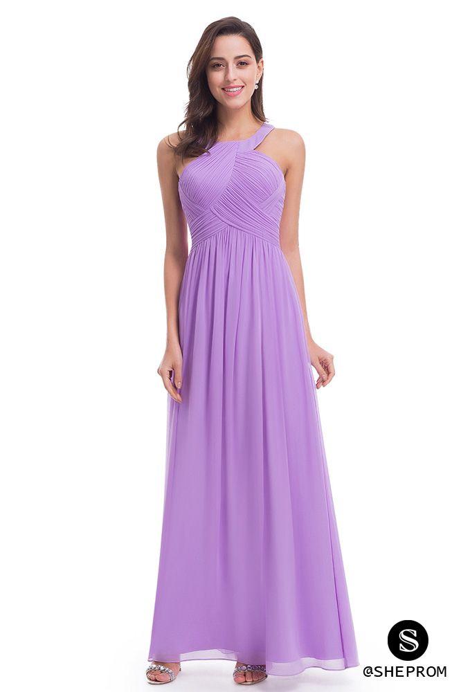 Lavender Halter Long Evening Party Dress - $64 #EP07058LV - SheProm ...