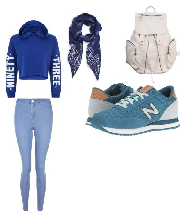 """Squirtle outfit"" by pokemonpikachuuuuuuu on Polyvore featuring New Look, Rockins and New Balance Classics"