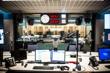 An all-too-short tour of NPR's new state-of-the-art studios in Washington, D.C.