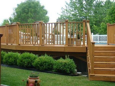Attrayant Above Ground Pools Decks Idea | ... In Prefab Above Ground Pool Decks | Patio  Deck Designs Idea