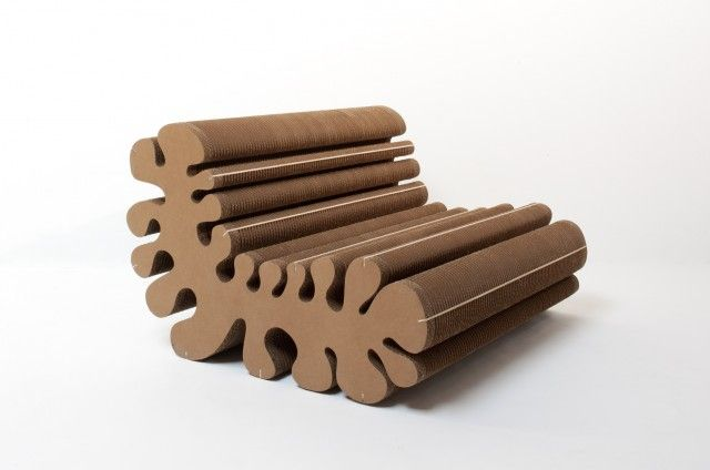 20 Awesome Cardboard Furniture Designs Armchairs and Cardboard