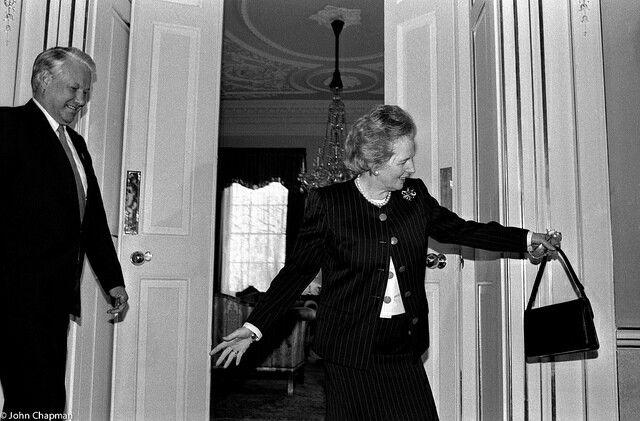 Boris Yeltsin and Margaret Thatcher both great leaders of the past   BORIS  YELTSIN   Margaret thatcher, Great leaders y The past