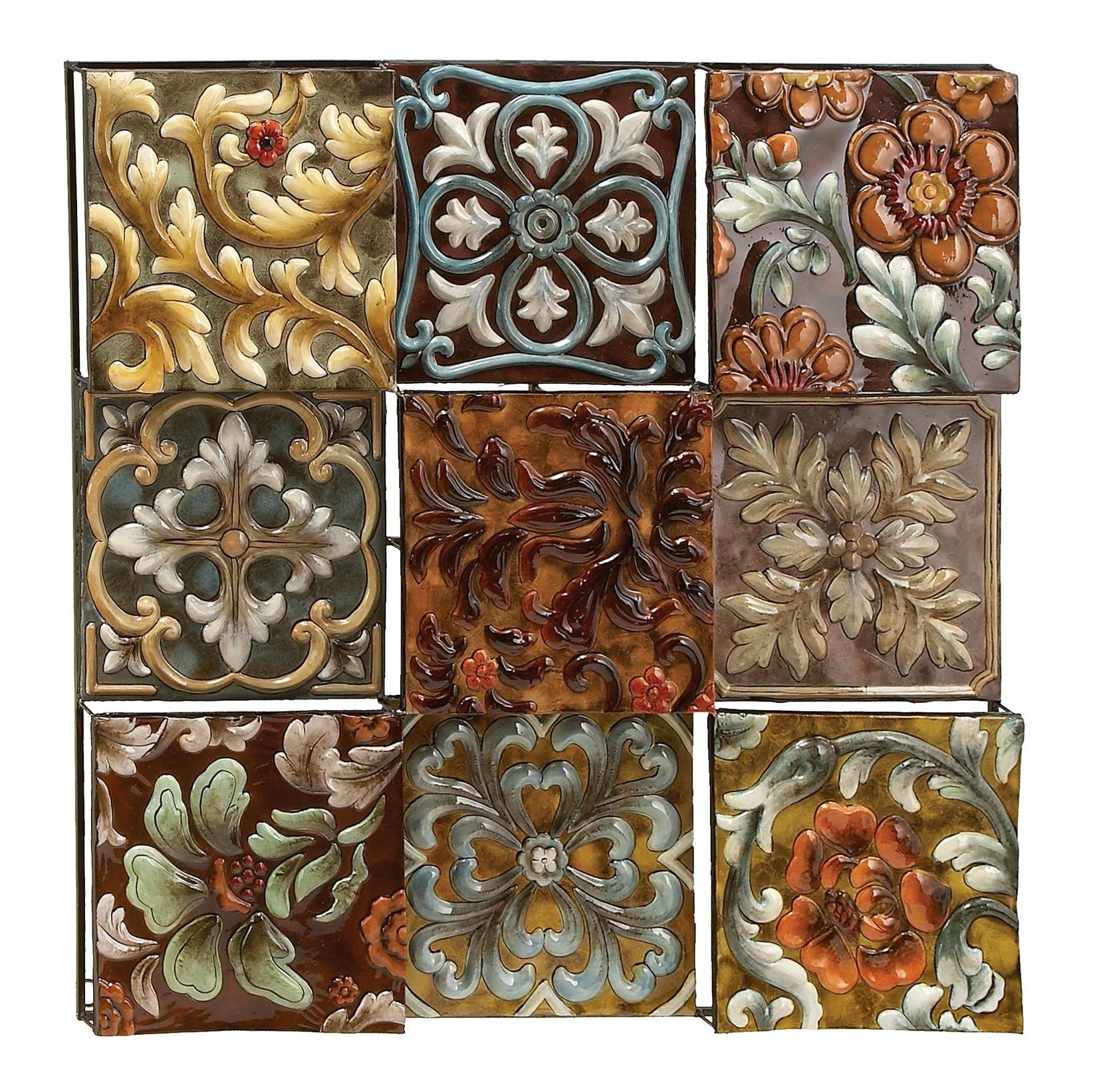 Wall flower décor ornaments pinterest metal walls wall décor