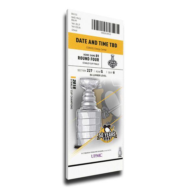 Nashville Predators vs. Pittsburgh Penguins 2017 Stanley Cup Final Game 1 Dueling Mega Ticket - $89.99