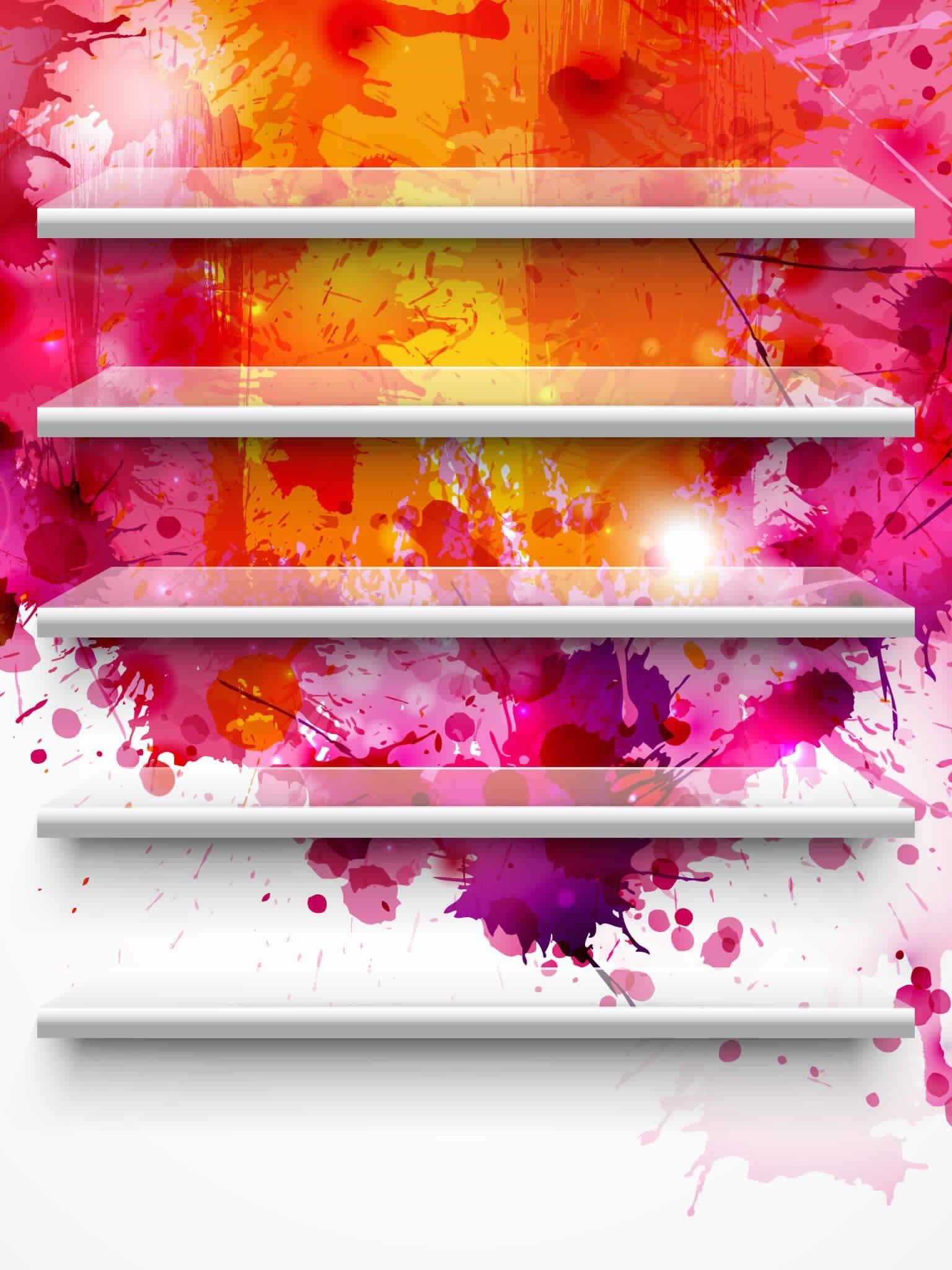 Wallpaper App Shelves Ipad Wallpaper Wallpaper App Wallpaper Shelves